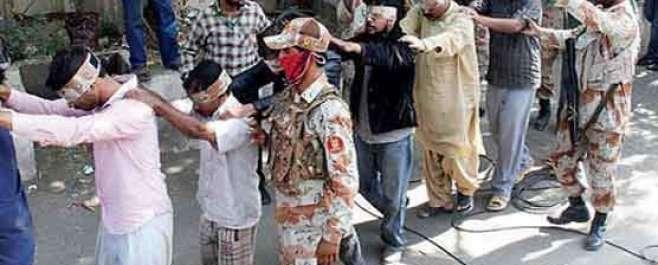 اسلحہ برآمدگی کیس میں ایم کیو ایم کے 26 کارکنوں پر فرد جرم عائد