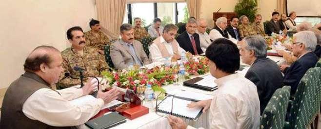 وزیراعظم کی زیرصدارت اعلی سطحی اجلاس 'ملک سے دہشتگردی اور انتہاءپسندی ..