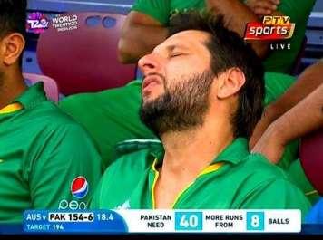 ورلڈ ٹی ٹونٹی ،آسٹریلیا نے پاکستان کو 21رنز سے ..
