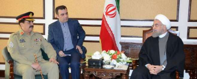 ایرانی صدر حسن روحانی نے آرمی چیف سے ملاقات میں بھارتی خفیہ ایجنسی ..