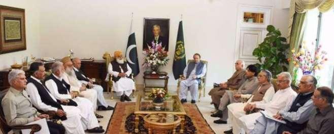 وزیر اعظم کی زیرصدارت وزیر اعظم ہاؤس میں اتحادی جماعتوں کا اہم مشاورتی ..