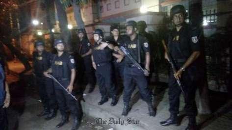 بنگلہ دیش کے دارلحکومت ڈھاکہ کے سفارتی علاقے ..