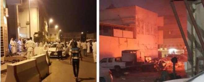 سعودی عرب کے شہر قطیف میں مسجد کے قریب 2 خود کش دھماکے