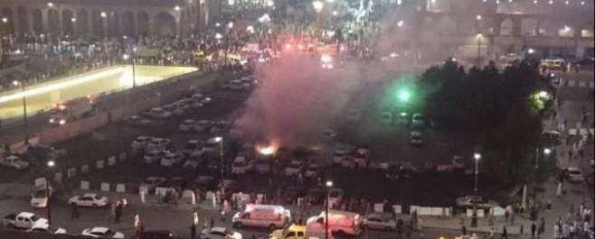 مسجد نبوی کے باہر ایمرجنسی سینٹر میں خود کش دھماکہ ہوا جس کے نیتجے میں ..