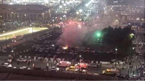 مسجد نبوی کے باہر ایمرجنسی سینٹر میں خود کش دھماکہ ..
