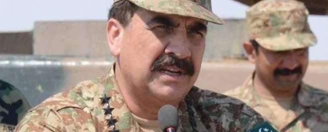 آرمی چیف جنرل راحیل شریف کی جانب سے پاکستانی سرزمین ہمسایہ ممالک کے ..