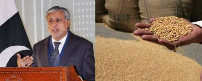 گندم کی گرتی ہوئی قیمت کو مستحکم کرنے کے لیے 9 لاکھ ٹن گندم برآمد کرنے ..