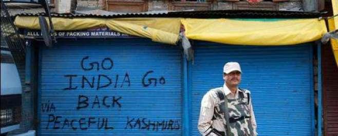 مقبوضہ کشمیر میں بھارتی قابض فورسز کی ظالمانہ کارروائیاں جاری-قابض ..