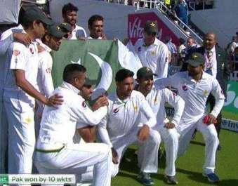 پاکستان نے انگلینڈ کو چوتھے ٹیسٹ میں 10وکٹوں سے ..