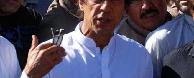 لاہور میں بھی رینجرز کے ذریعے آپریشن کئے جائیں :عمران خان