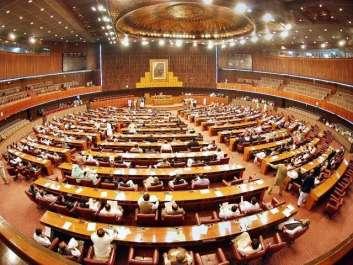 پارلیمنٹ کے مشترکہ اجلاس میں کشمیر سے متعلق قرارداد ..