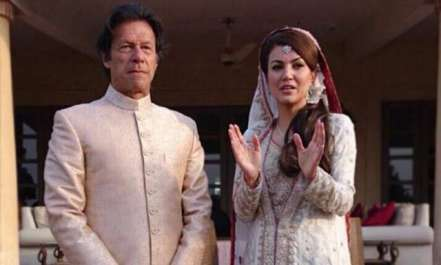 ریحام خان نے  سابقہ شادی سے متعلق خاموشی توڑ تے ..