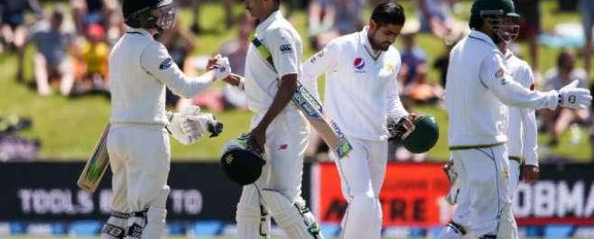 پہلا ٹیسٹ، نیوزی لینڈ نے پاکستان کو 8وکٹوں سے شکست دیکر کامیابی سمیٹ ..