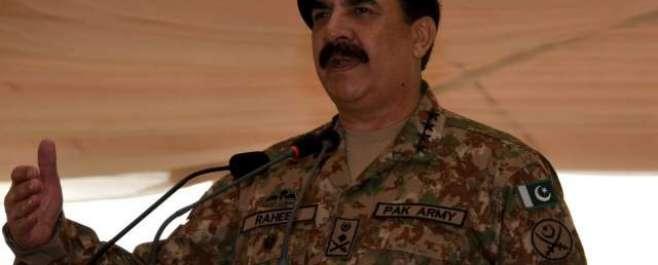 بلوچستان کےعوام نے دہشتگردوں کانیٹ ورک پکڑنے میں مدد دی۔آرمی چیف