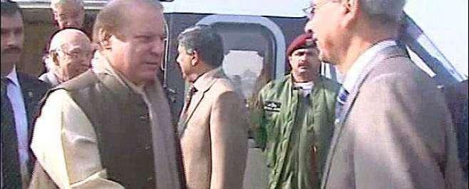وزیر اعظم نواز شریف نے چشمہ تھری نیوکلئر پاور پلانٹ کا افتتاح کر دیا
