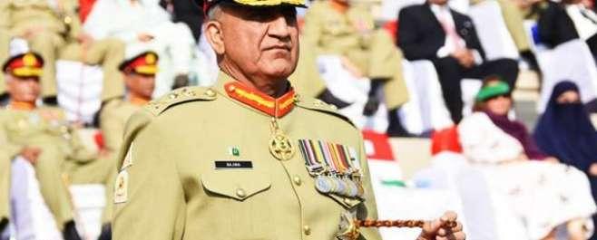 آرمی چیف جنرل قمرجاوید باجوہ کااٹک کےقریب بہادررینجزکادورہ