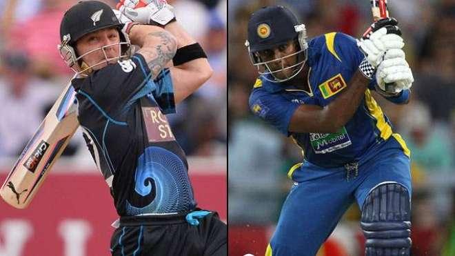 نیوزی لینڈ اور سری لنکا کے درمیان چوتھا ون ڈے کرکٹ میچ ہفتے کو کھیلا ..