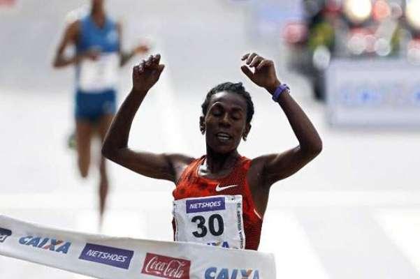 برازیل روڈ ریس، مردوں اور خواتین کے ایونٹ میں ایتھوپیا نے میدان مار ..