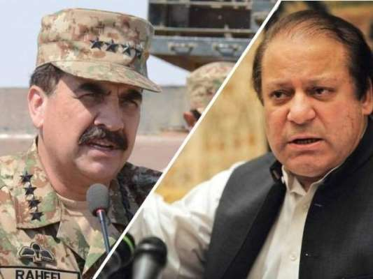 نجی ٹی و ی چینل کی جانب سے کروائے گئے سروے میں آرمی چیف 2015 کے دوران پاکستان ..