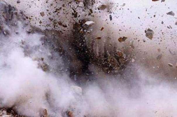 پشاور، موٹر وے پر سیکورٹی فورسز کی گاڑی قریب دھماکا