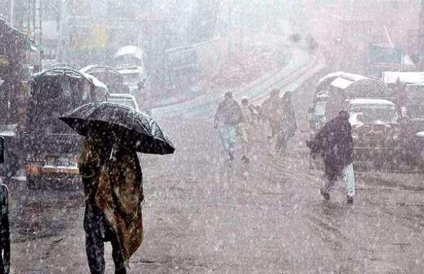 پاکستان کے بالائی اور پہاڑی علاقوں میں قبل از وقت برفباری کے آغاز کی ..