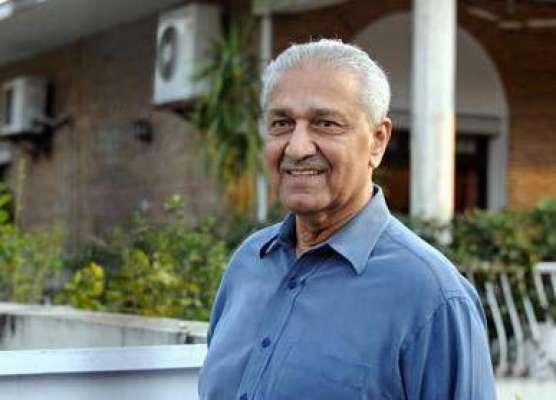 ممتاز ایٹمی سائنسدان ڈاکٹر عبدالقدیر خان کی درگاہ میاں میر کے سجادہ ..