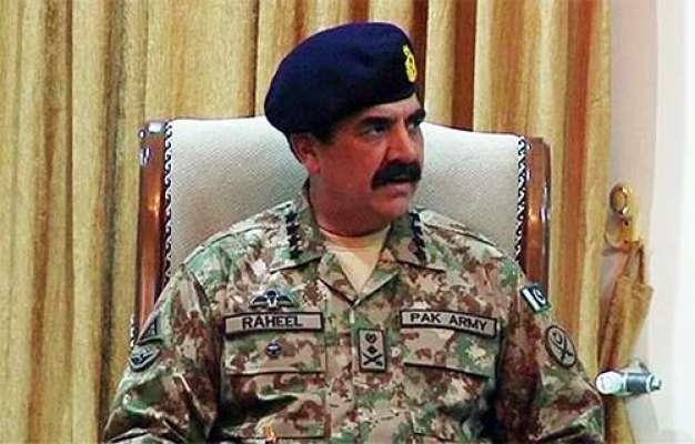 آرمی چیف جنرل راحیل شریف پشاور کورہیڈ کوارٹر پہنچ گئے ۔ ڈی جی آئی ایس ..