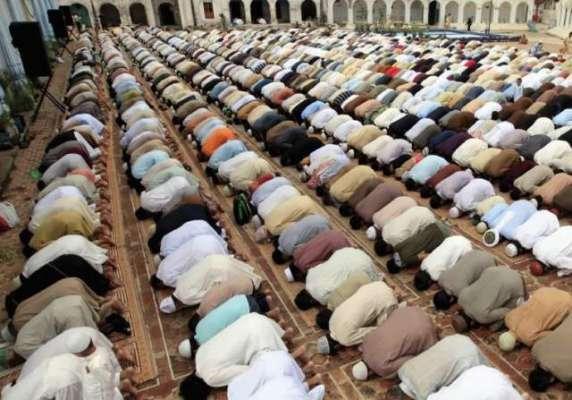 آئمہ مساجد اپنے علاقوں میں نماز استسقاء کا اہتمام کریں ،مفتی محمدنعیم
