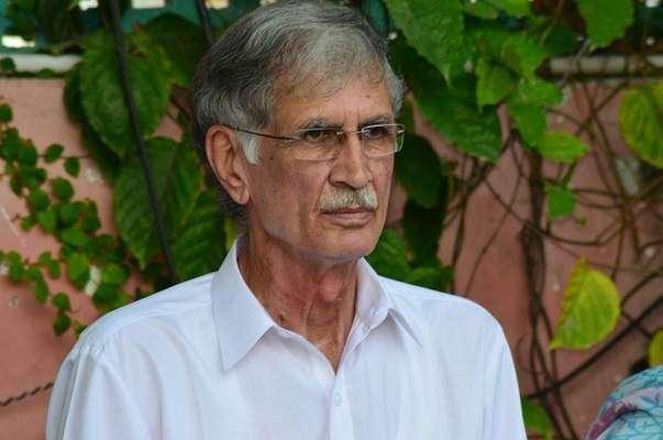 وزیر اعلی خیبرپختونخوا کا مستعفی ڈائریکٹر جنرل احتساب کمیشن حامد خان ..
