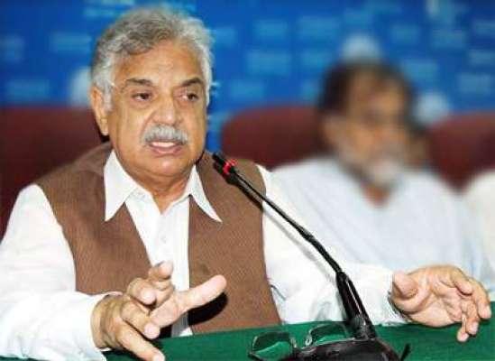 پشاور : مسلم لیگ ن کے رہنما اقبال ظفر جھگڑا نے گورنر خیبر پختونخواہ ..