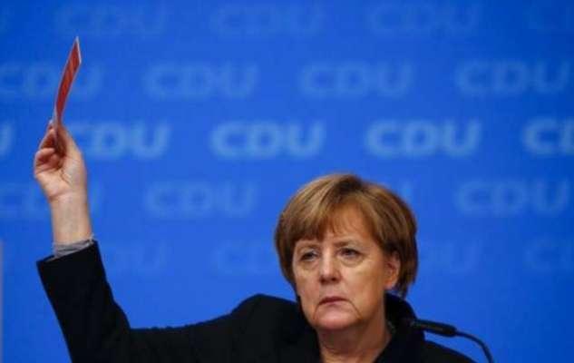 جرمن چانسلر آنگیلا میرکل کی جماعت کو ملک کی تین ریاستوں میں سے دو میں ..