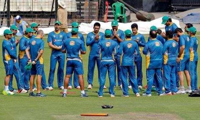 ورلڈ ٹی ٹونٹی وارم اپ میچ ، پاکستان کا سری لنکا کیخلاف ٹاس جیت کر بیٹنگ ..