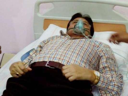 سابق صدر پرویز مشرف کی طبیعت ایک بار پھر بگڑ گئی