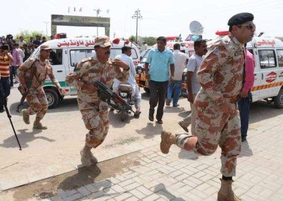 کراچی میں رینجرز چوکیوں پر دس منٹ کے وقفے سے دو دستی بم حملے' کوئی جانی ..