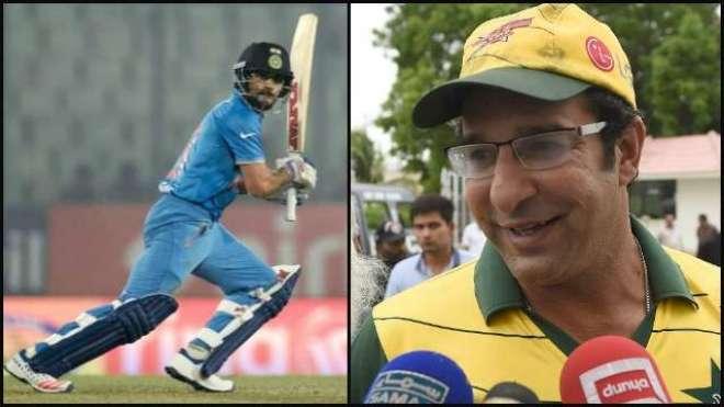 وسیم اکرم نے سٹار بھارتی بلے باز ویرات کوہلی کو قابو کرنے کا طریقہ بتا ..
