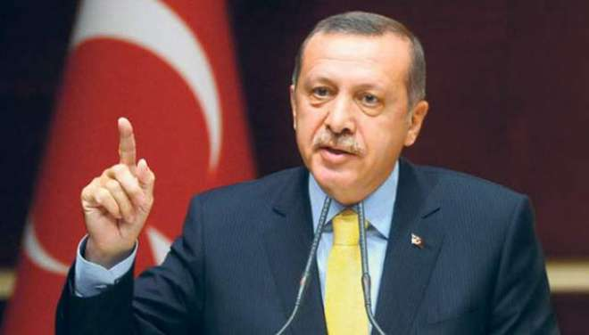 دہشت گردوں کو گھٹنے ٹیکنے پر مجبور کر دیں گے 'ترک صدر طیب اردوغان