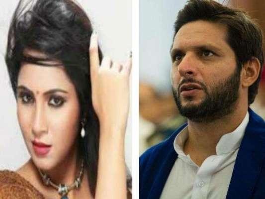 کیا بھارتی اداکارہ عرشی خان شاہد آفریدی کے بچے کی ماں بننے والی ہیں ..