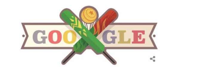 پاک بنگلہ دیش میچ کل ہوگا ، گوگل نے دونوں ٹیموں کیلئے اپنا لوگو تبدیل ..