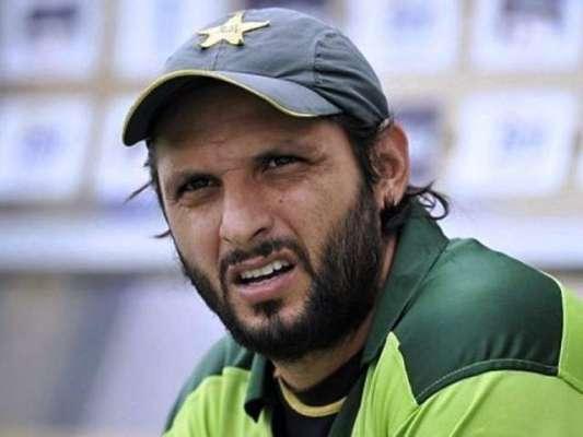 قومی ٹی 20 کرکٹ ٹیم کے کپتان شاہد آفریدی بخار میں مبتلا ' بنگلادیش کے ..