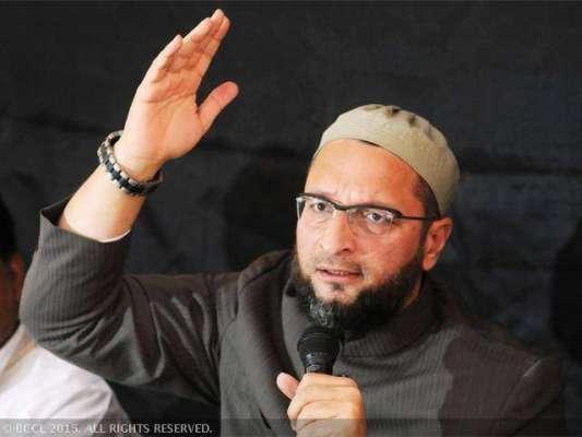 شیو سینا بھارتی مسلمان رہنما اسد الدین اویسی کے خلاف میدان میں آ گئی