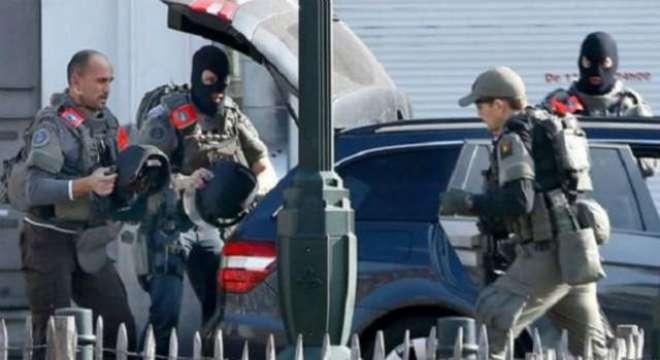 بیلجیئم ؛ برسلز میں سکیورٹی فورسز کے ساتھ فائرنگ کے تبادلے میں مشتبہ ..