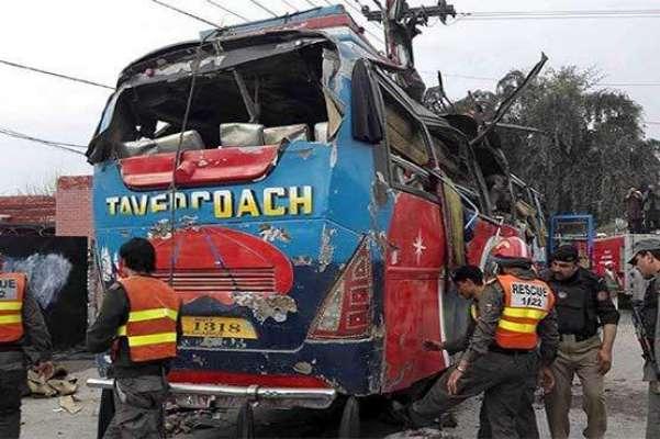 پشاور دھماکے میں بس ڈرائیور نے ہمت اور بہادری کی نئی مثال قائم کردی