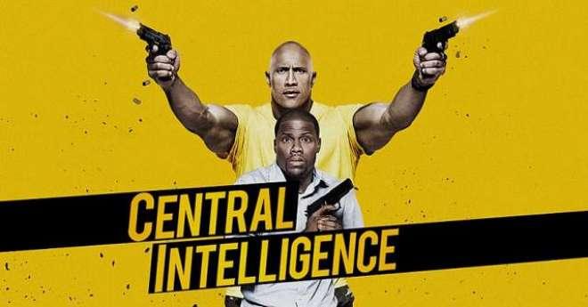 """تھرل اور کامیڈی سے بھرپور فلم """"سینٹرل انٹیلی جنس""""کا ٹریلر ریلیز"""