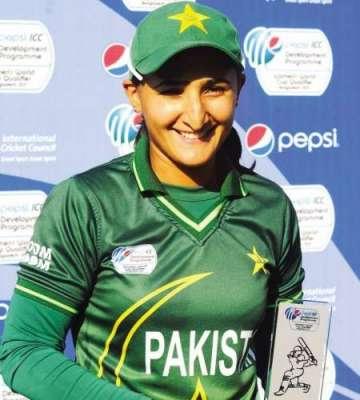 ورلڈ ٹی 20 میں پاکستانی ویمن سکواڈ کی زخمی ہونے والی اوپنر جویریہ خان ..