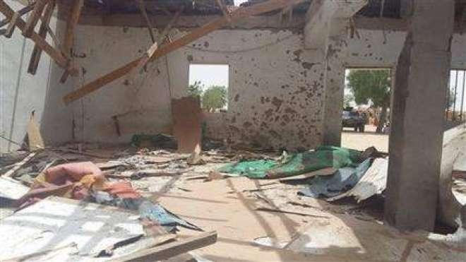 نائجیریا ،دو خواتین خود کش حملہ آوروں کی مسجد پر کارروائیوں میں 24افراد ..