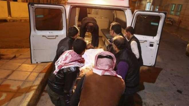 اردن، سعودی عرب جانے والی بس زائرین کو حادثہ 14 فلسطینی زائرین جاں بحق ..