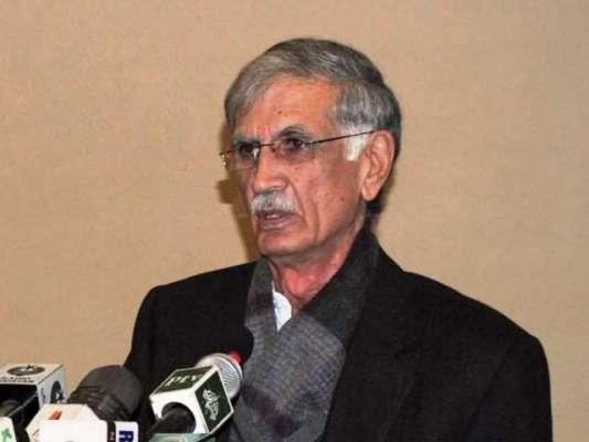 پرویز خٹک نے خیبرپختونخوا کو سیلاب کی تباہ کاریوں سے مستقل طور پر بچانے ..