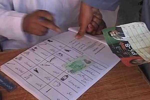 پشاور پی کے 8 ضمنی الیکشن، غیر سرکاری غیر حتمی نتائج تحریک انصاف کے ..