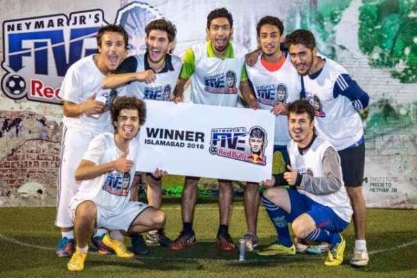 تاریخ میں پہلی مرتبہ پاکستان کا نام فٹ بال کے کسی بین الاقوامی ایونٹ ..