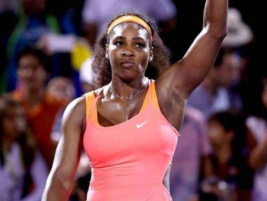 سرینا ولیمز یو ایس اوپن ٹینس ویمنز سنگلز سیمی فائنل میں کل ایکشن میں ..
